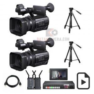 Live Multicamera Blackmagic Atem Batam Broadcast Television Studio Batam Kepri