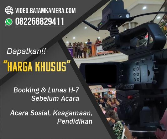 Jasa Video Shooting Event Seminar, Workshop, Konser, Event Hotel, Anniversary di Batam, Kepulauan Riau